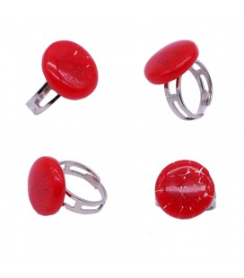 Bague-murano-murrine-ronde-rouge-milodina