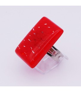 Bague-murano-murrine-rectangle-rouge-milodina